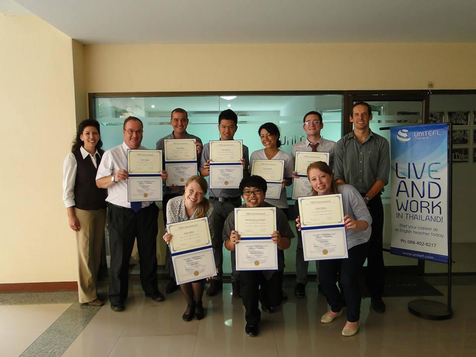 UniTEFL August 2013 Graduates