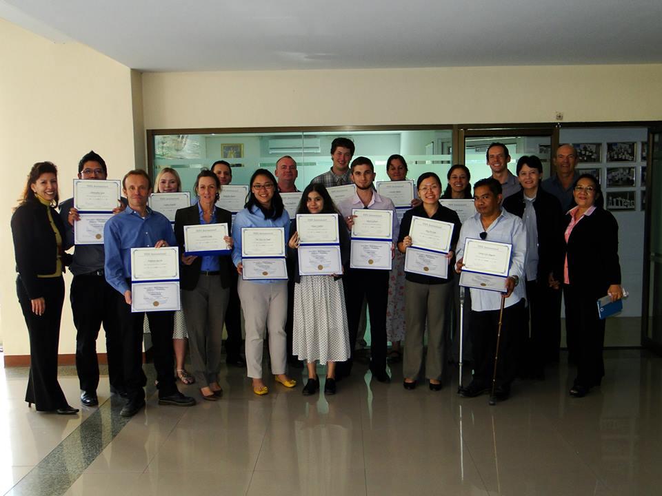 UniTEFL December 2013 Graduates