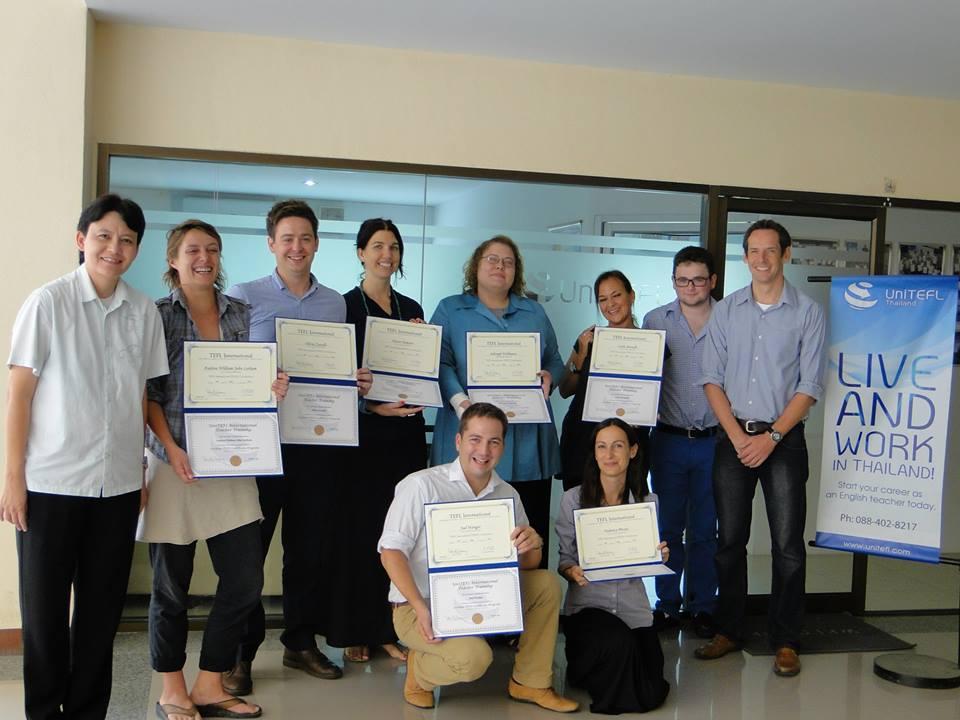 UniTEFL May 2014 Graduates