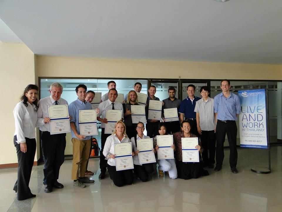 UniTEFL February 2014 Graduates